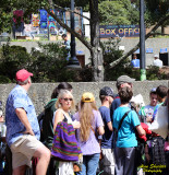 Deadheads lining up, Furthur, Sept. 29, 2013, Greek Theatre, Berkeley,CA