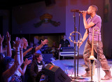 Trombone Shorty and the Big Room crowd