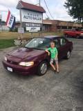 My Son's First Marketing Idea cars
