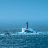 Longships lighthouse off Lands End, Cornwall