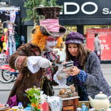 Mad Hatters Tea Party - Camden Town