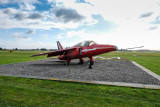 Red Arrows team plane
