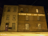 byrne sign + art supply