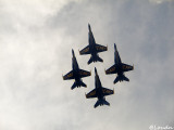 Blue Angels over Cleveland