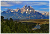 Tetons from Snake River Overlook (HDR)