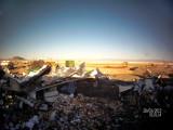 Union Pacific derailment, Parran NV - 3-25-2015