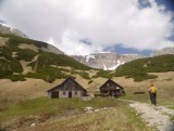 Huts at Fölzalm