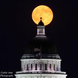 Blue Moon @ Sacramento State Capitol