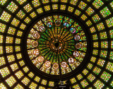 Chicago Cultural Center - Tiffany Dome - 38 foot diameter - Largest in the World