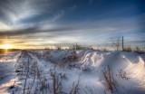 Post winter storm - Okarche, OK - March 3, 2014