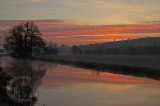Sunrise over the River Culm