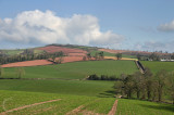 Southern view of Brandinch farmland
