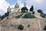 The Great Pyramid of Cholula - about 6 km west of Puebla MEXPHO