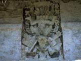 Tulum Descending God - Fresco detail - Quintana Roo (SC3)