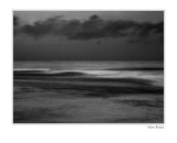 Sea in BW