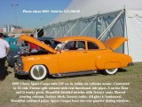 1950 Chevy in color with text