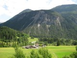 View from the Train on the way to Pontresina