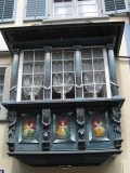 Zurich. Window in the old town