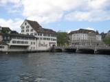 Zurich. River Limmat