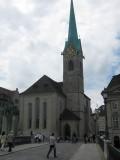 Zurich. Fraumünster Abbey
