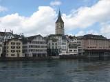 Zurich. St.Peterskirche