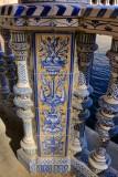 Azulejos en Plaza de España