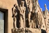 Escultures a la Façana de la Passió