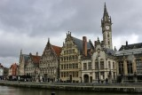 Ghent. Guildhouses of the Graslei