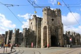 Ghent. The Gravensteen (The Castle of the Counts)