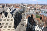 Ghent. View from the Belfry Tower