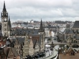 Ghent.View from the Castle of the Count