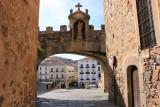 Cáceres. Arco de la Estrella