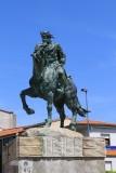 Plasencia. Estatua a Alfonso VIII