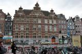 Amsterdam. The Nieuwezijds Voorburgwal Street