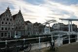 Haarlem. Gravestenen Bridge