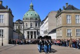 Copenhagen. Changing of the Royal Guard