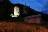 Pontresina. Spaniola Tower