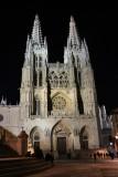 Burgos Cathedral. Main Façade