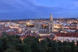 Burgos. Early evening lighting