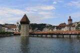 Luzerne. Kapellbrücke