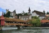 Luzern. Spreuerbrücke