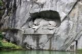 Luzern.  Löwendenkmal