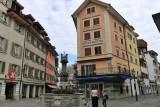 Luzern. Franziskanerplatz