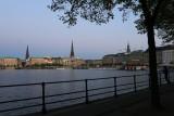 Hamburg. Binnenalster