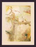 April is the Cruellest Month 28x36 watercolor