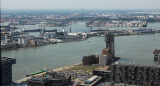 Euromast: Rotterdam harbour