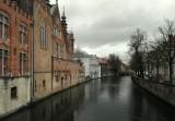 een kanaal in Brugge