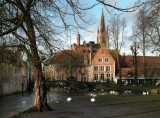a bit of sunshine over Bruges