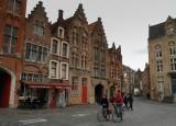 de straten van Brugge