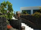 Cesar Manrique's volcano house